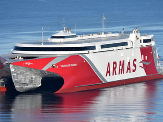 Incat Tasmania Exports 111m Ferry to Spain