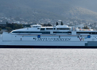Incat launches 110m craft for Virtu Ferries