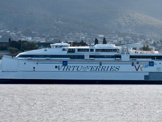 Incat launches 110m craft for Virtu Ferries