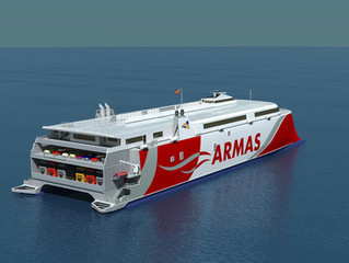 Incat seals contract to build a new generation 109m catamaran for Spanish line