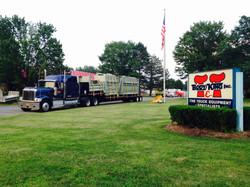 Truckload of Beau Roc Dump Bodies