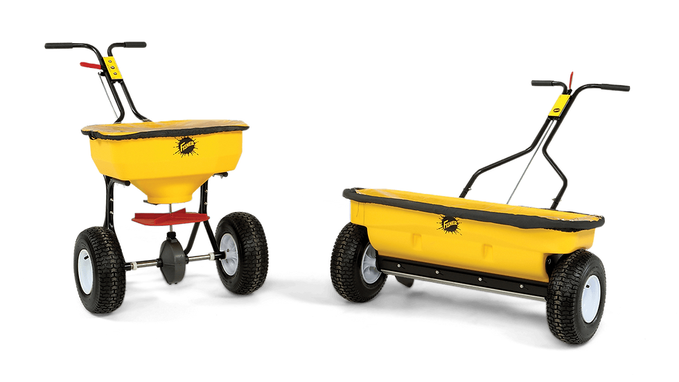 WB-160D & WB-100B WALK-BEHIND SPREADERS