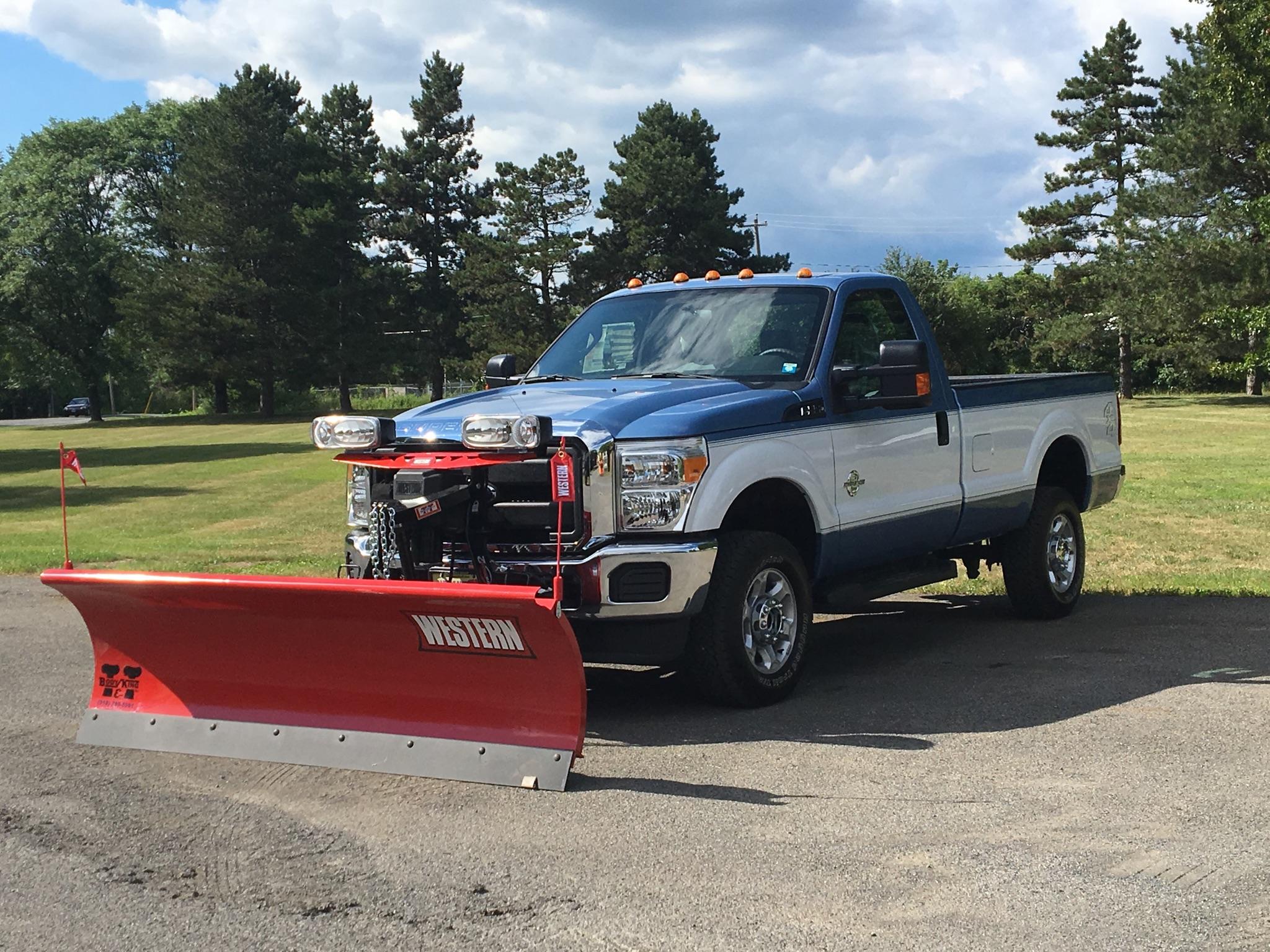 Western 8' Pro Snow Plow