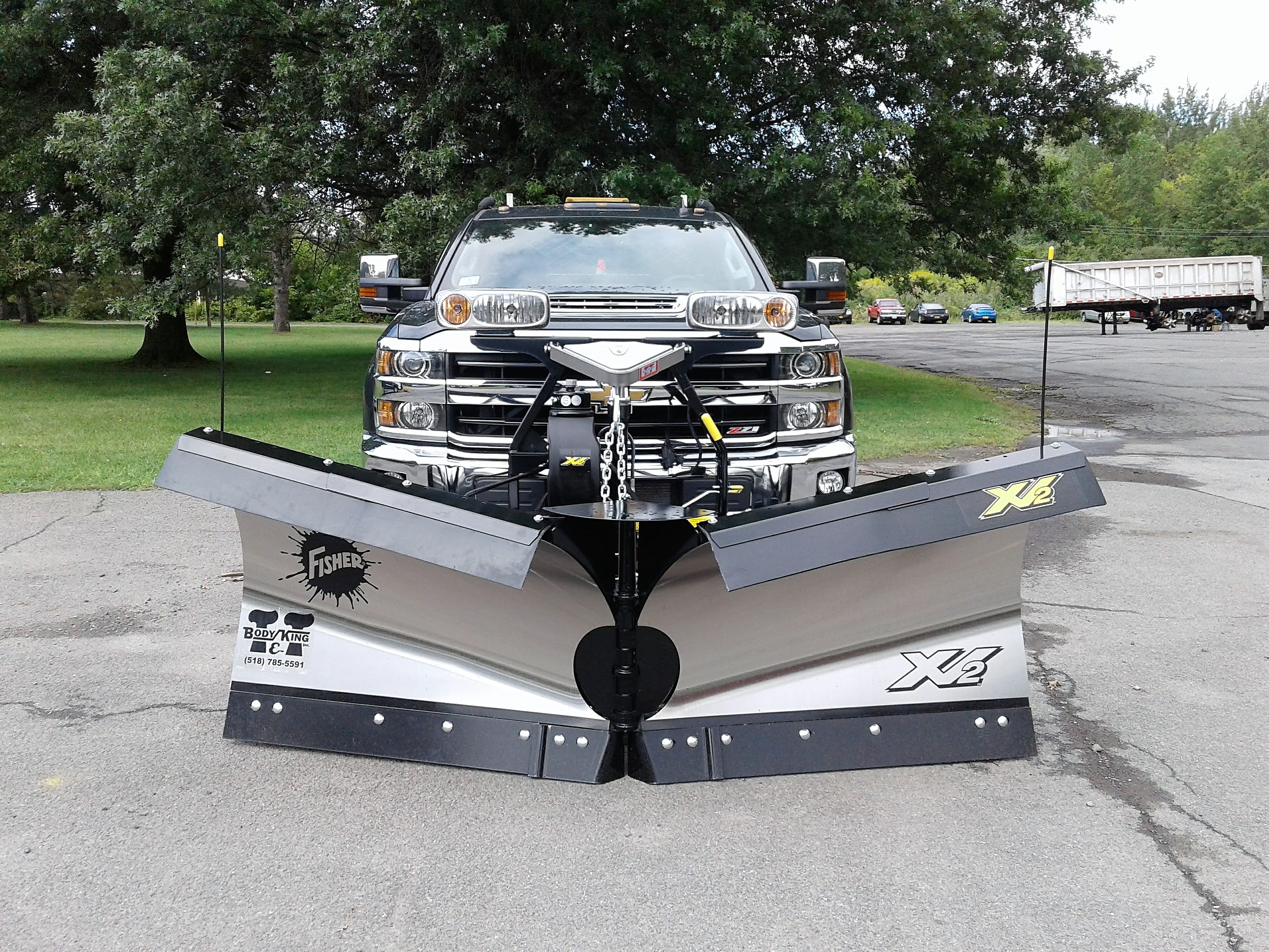 "8'6"" XV Stainless Steel Snowplow"