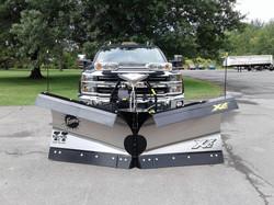 """8'6"""" XV Stainless Steel Snowplow"""