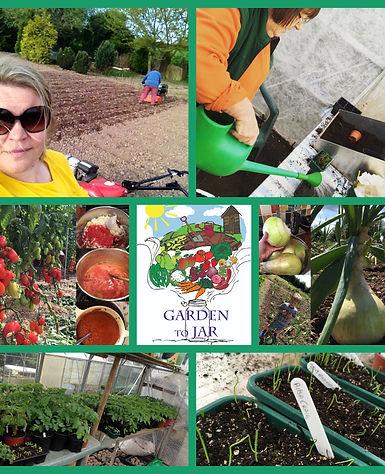 three fruity ladies garden to jar homegrown Herefordshire preserves