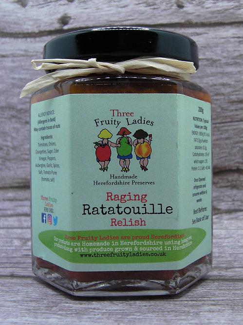 Ratatouille Relish handmade by Three Fruity Ladies