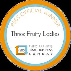 Three Fruity Ladies SBS winners badge