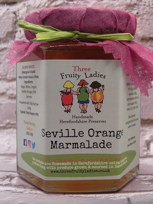 Seville Orange Marmalade handmade by Three Fruity Ladies