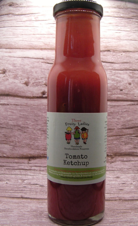 Tomato Ketchup handmade by Three Fruity Ladies