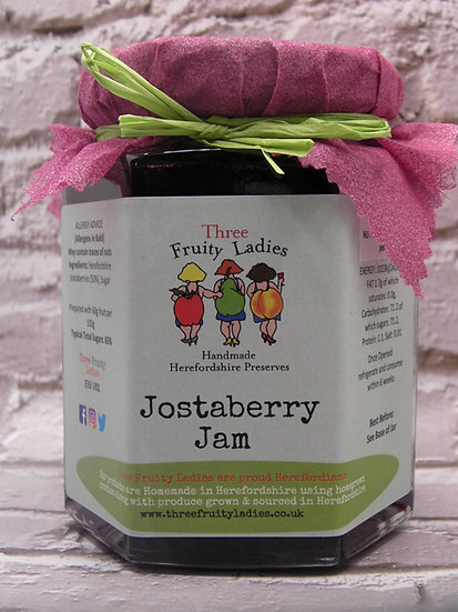 Jostaberry Jam handmade by Three Fruity Ladies