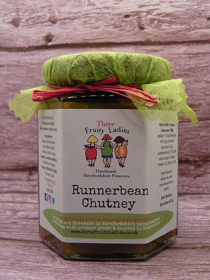 Runnerbean Chutney handmade by Three Fruity Ladies