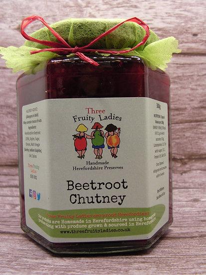 Beetroot Chutney handmade by Three Fruity Ladies
