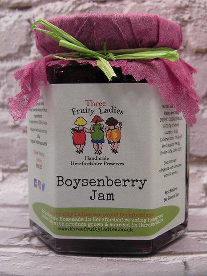 Boysenberry Jam handmade by Three Fruity Ladies