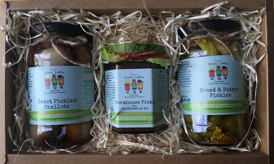 Ploughmans Pack from Three Fruity Ladies