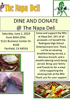 Fundraiser - Dine and Donate - The Napa