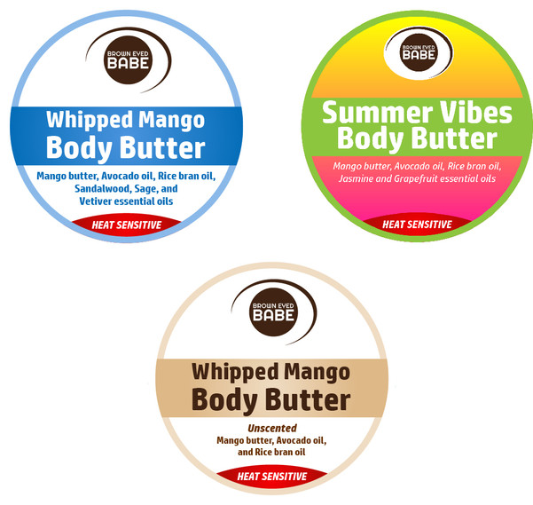 Body Butter Labels