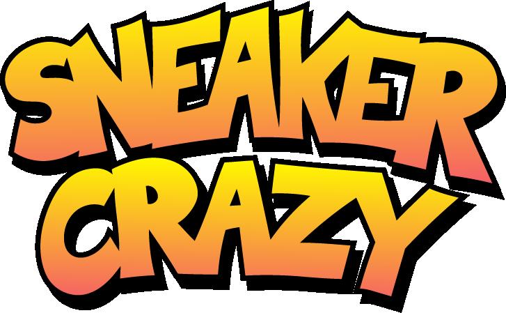 Sneaker Crazy Logo Text