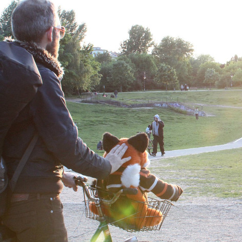 A still from a music video I shot in Berlin, Germany - this scene was shot in Görlitzer Park