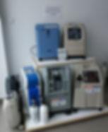 stacjonarne koncentratory tlenu