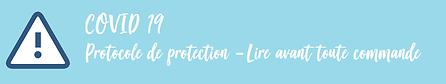 Protocole de protection Coronavirus COVID19