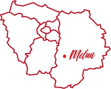 Melun - Fontainebleau - Sénart 77