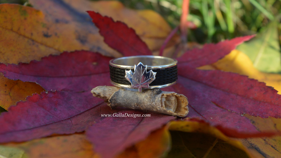 Woven Ring - Canadian