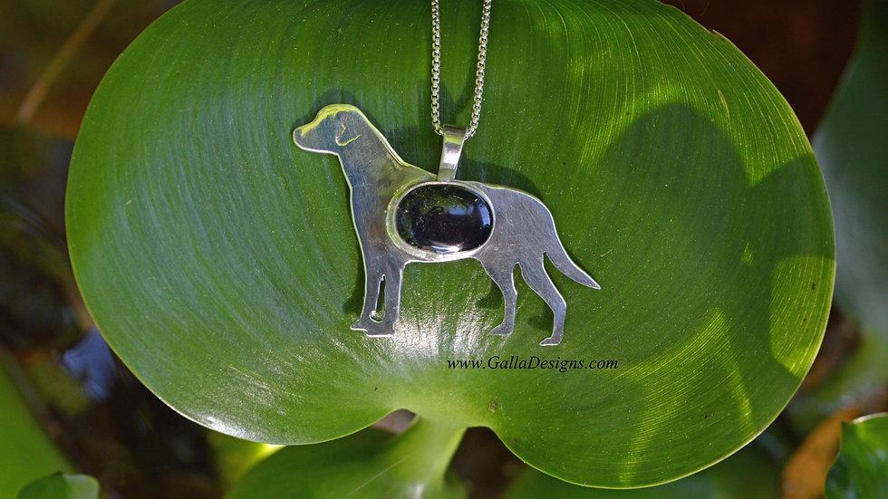 Sterling Silver Dog Pendants