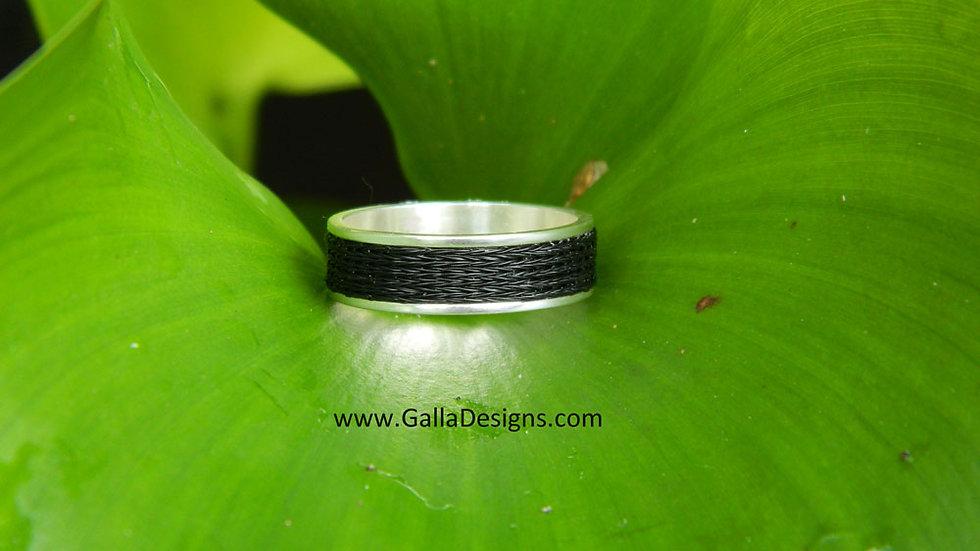 Woven Ring - Plain Band
