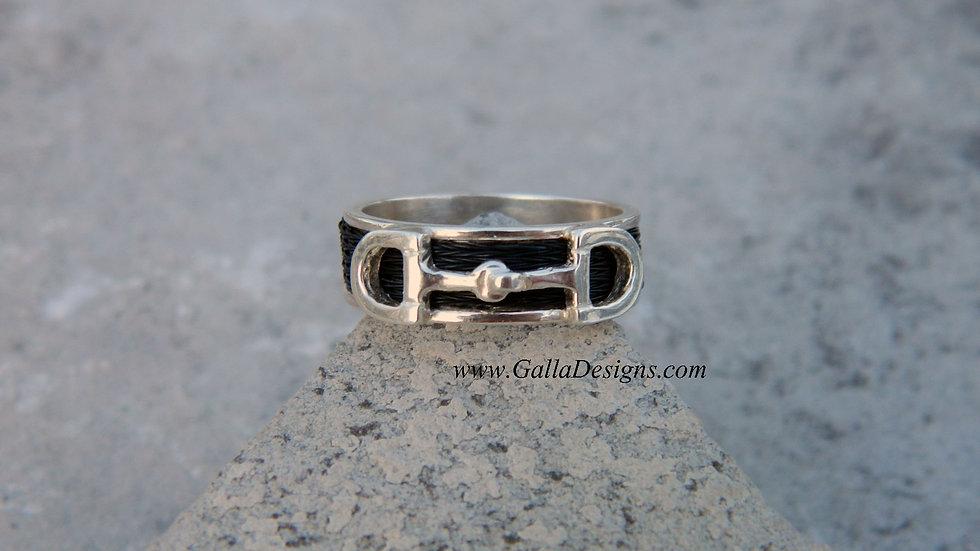 Woven Ring - Snaffle Bit