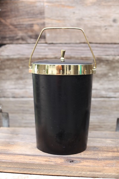 Black & Gold ice bucket