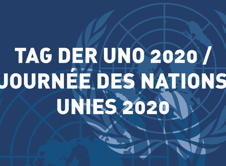 UNO-Tag 2020 : Die Schweiz und der UNO-Sicherheitsrat