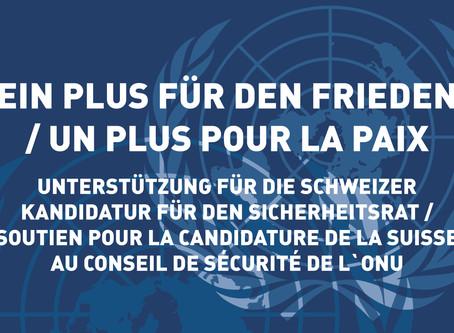 «Ein Plus für den Frieden» / « Un plus pour la paix »