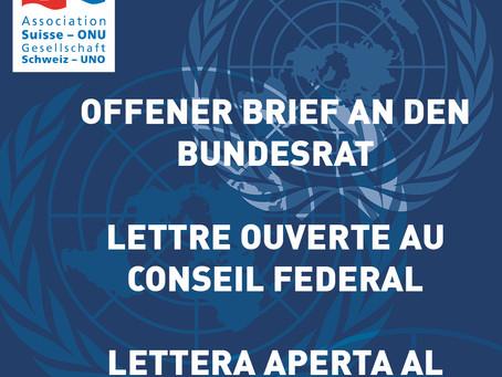 Covid-19: Offener Brief an den Bundesrat