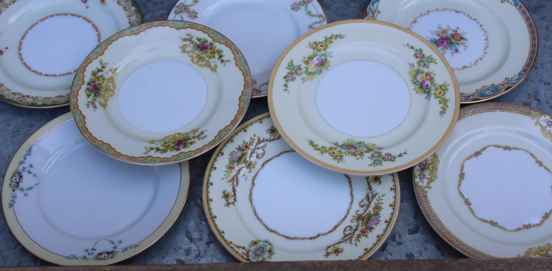 Moxed Bouquet dessert plates
