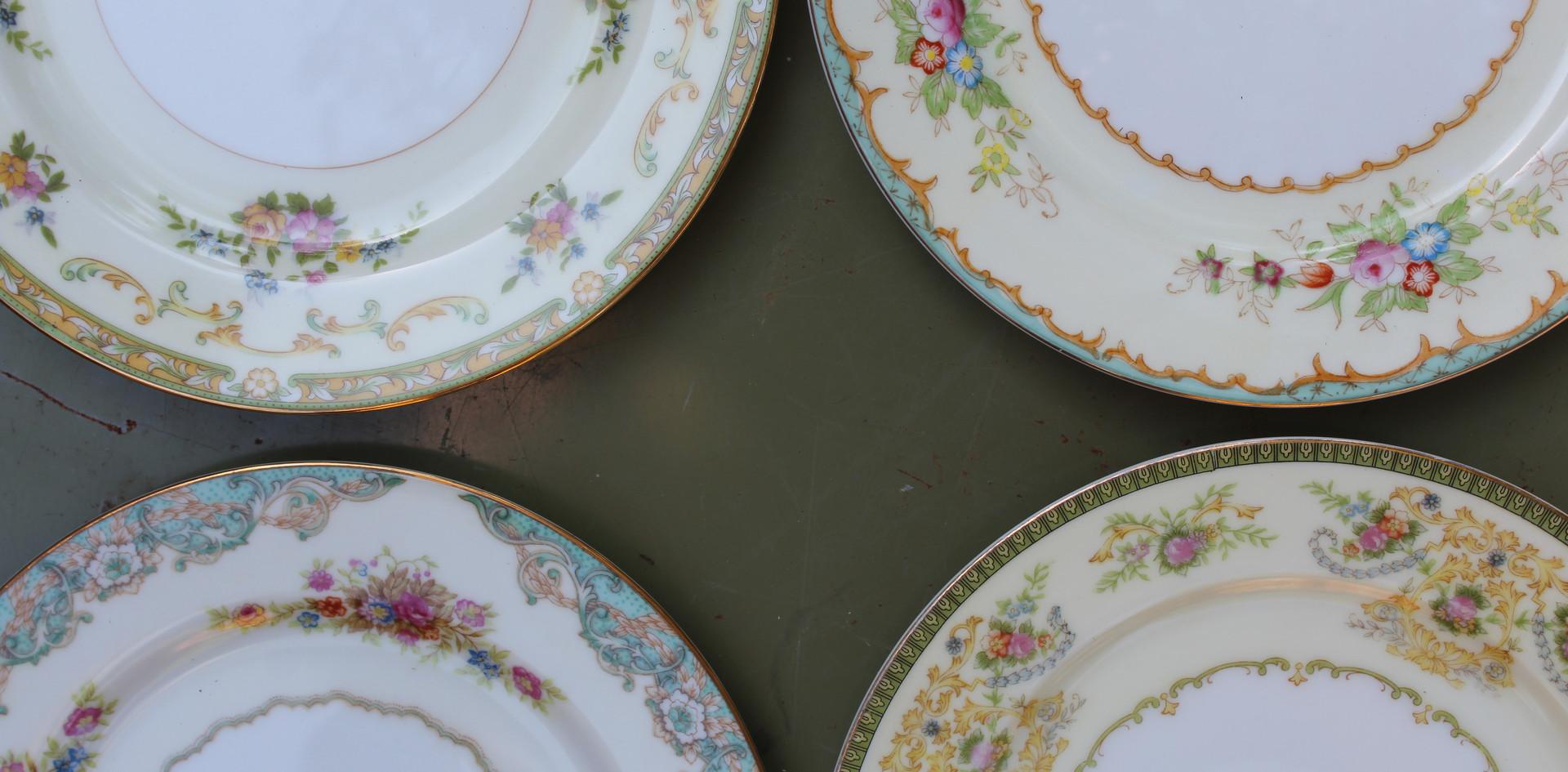 Mixed Bouquet salad plates