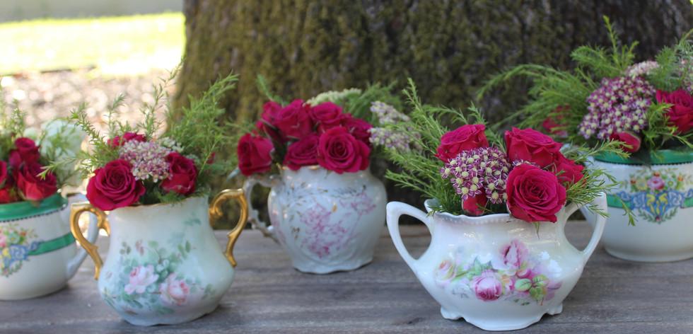 Mixed Bouquet flower vessels