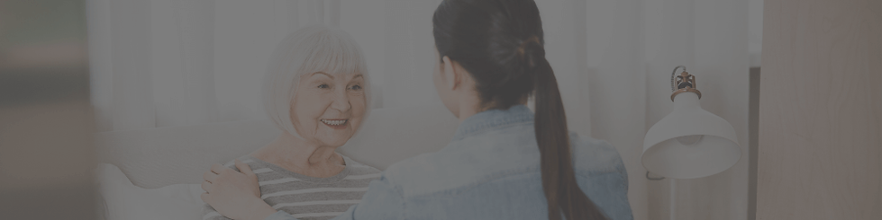 A home carer supporting someone with advanced care needs