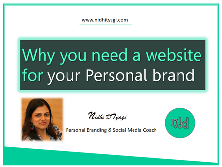 Why you need a website for your Personal Brand