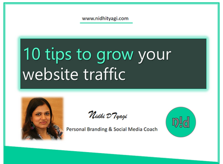 10 tips to grow your website traffic