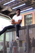 lifestyle photoshoot with Rashaun by Bridgette of forty-ninth street