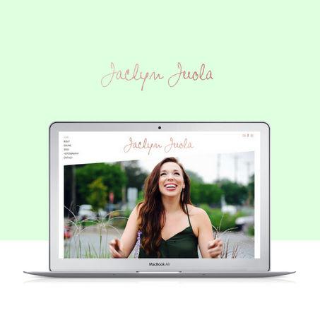 Actor custom website design