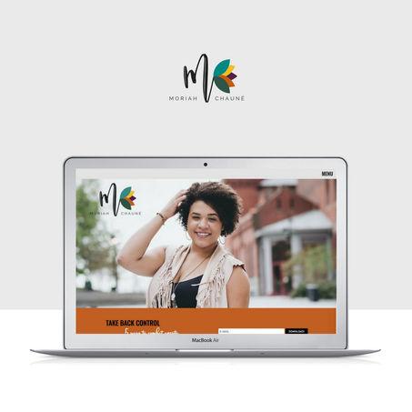 Custom website + logo design