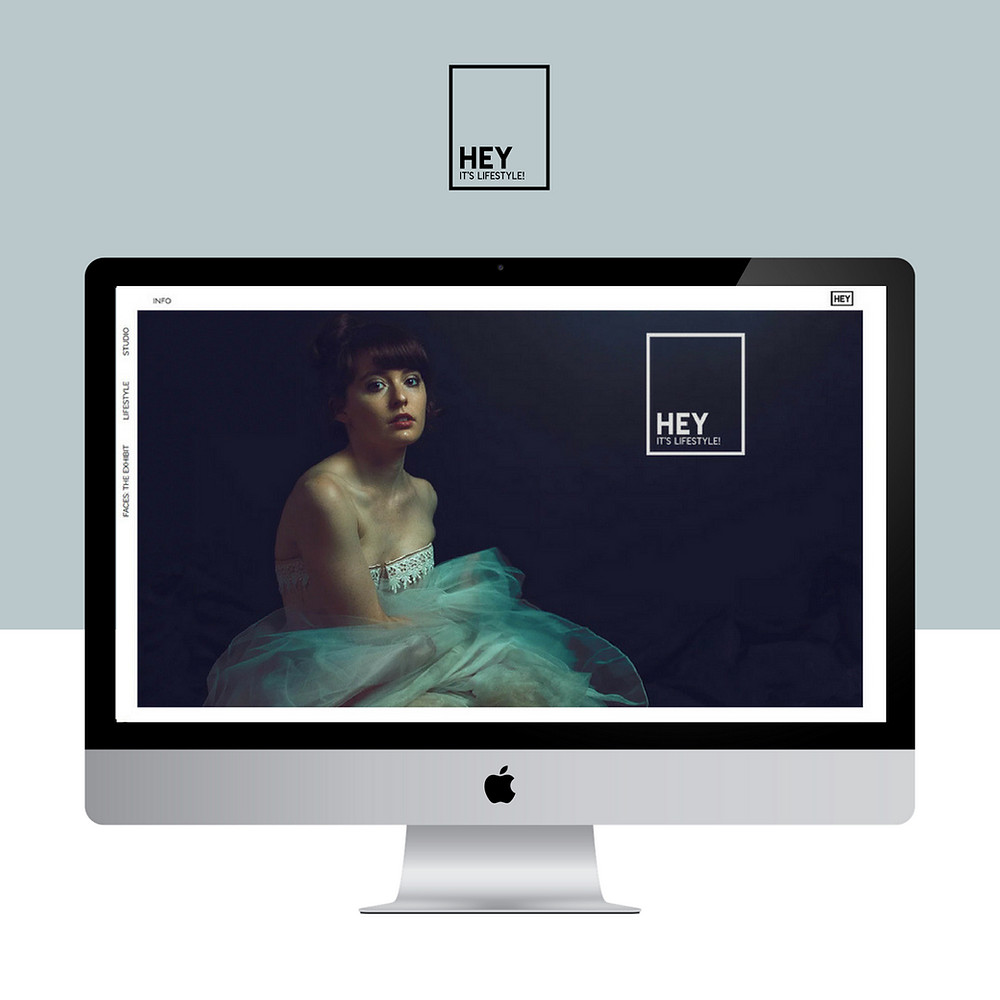 Wix website design for Hey it's lifestyle and matthew fischer by Bridgette Karl of forty-ninth street, websites for actors