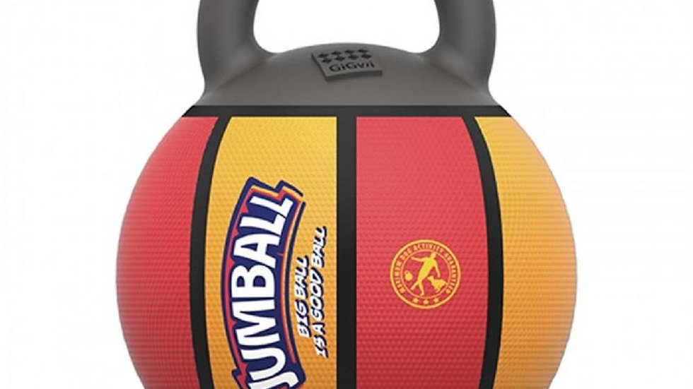 Bola Jumball Basket Vermelho/Amarelo