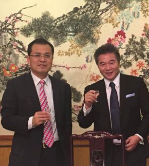 中国驻芝加哥总领事接见凯笙集团董事长倪举凌