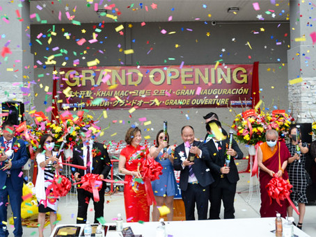 Park to Shop Supermarket and Food Court Grand Opening