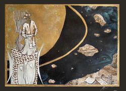 Tencheul Journeys -Komo Sese in Space