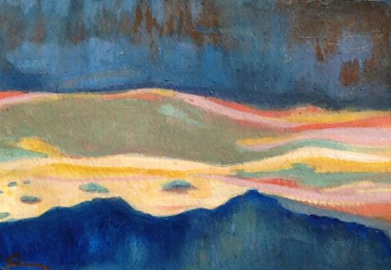 color studies: sunset color x