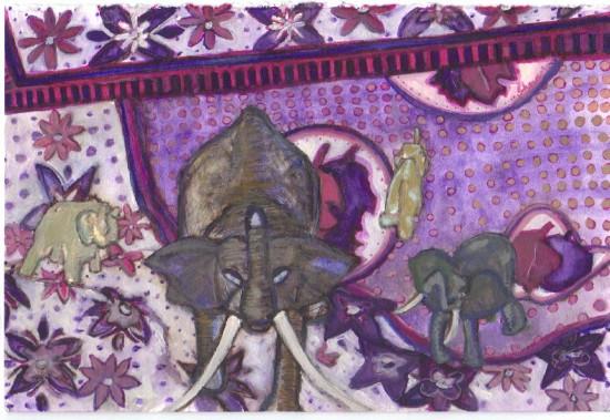 Nilijua Mtasema on Khanga w Jade Elephan